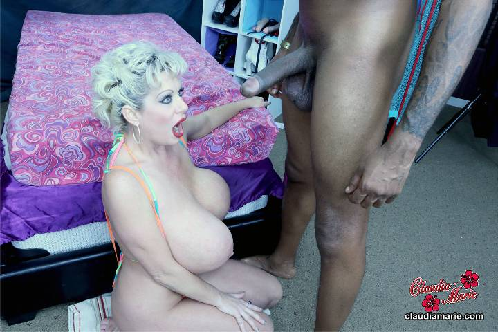 Claudia marie deepthroat video — pic 8