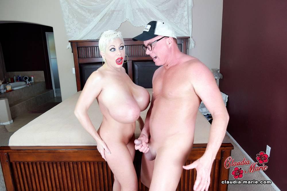 Claudia marie huge fake tit prostitute